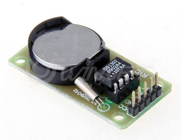 DS1302 Real Time Clock Module with Battery Backup